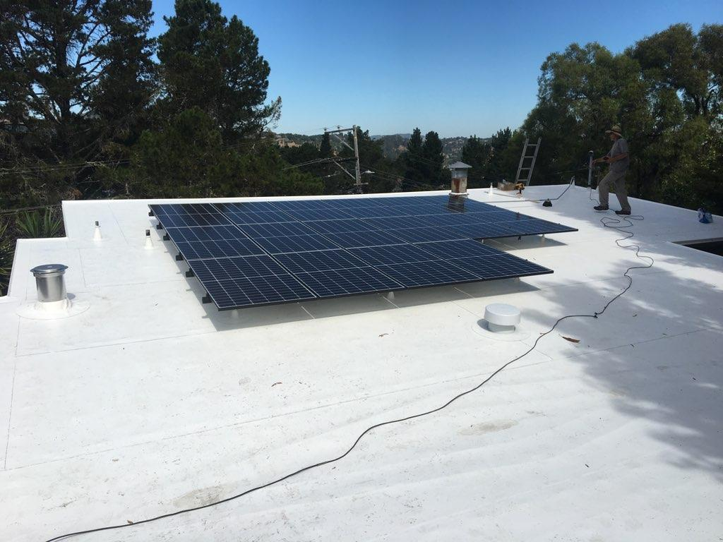 Solar Panel Installation Ars Roofing Roofing
